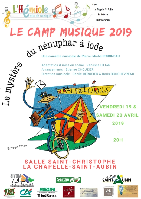 concert camp musique 2019